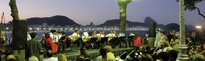 Natal antecipado no Forte de Copacabana