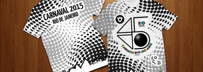 Camisa oficial do desfile 2015 do Cordão da Bola Preta já está disponível para venda!